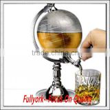 Globe Juice Tea Wine Dispenser Drink Beer Machine Beer Pump Single Canister Globe Beverage Dispenser