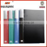 Rectangle Green PVC Clear Book A4 Paper File Folder 40 Pocket Presentation Document 48.0cmx31.0cm