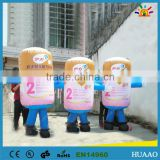 Hot sale pvc inflatable bop bag cartoon toy