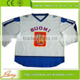 Free shipment custom wholesale blank infant ice hockey jerseys