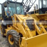 from origin of place used JCB 3CX hydraulic wheel backhoe loader