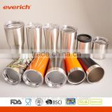 BPA Free 18/8 Stainless Steel Tumbler Insulated Pint with Lid                                                                         Quality Choice