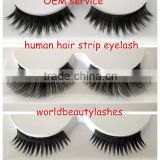 100% human hair hand-tied eyelash, wholesale price