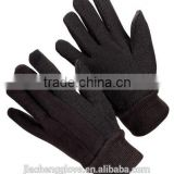 hand gloves,cotton glove,mechanic gloves; jersey gloves with dots