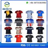 Compressed Sport Gym Running T Shirt/ Superhero T-shirt Avengers Marvel Super Heroes Superman Mens Boys T Shirt