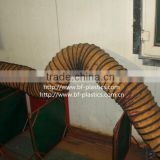 pvc negative pressure air suction flexible duct hose