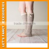 Fashion leg warmer China wholesale baby leg warmer best selling thanksgiving leg warmer PGLG-0010