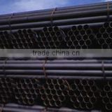 BS1139 en39 black welded scaffolding pipe for cuplock and base jack and prop and frame system