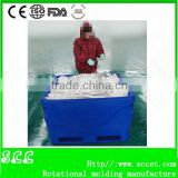 Rotomolding fish totes and fish container frozen fish holding bin fish ice cooler box                                                                         Quality Choice