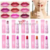 Makeup Moisture Long Lasting Bright Cosmetic Lipstick Lip Color 21#