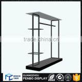 good prices retail store clothes wood table top display shelf for sale