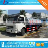 hot sale 3000L Dongfeng 4*2 vacuum pump fecal suction truck