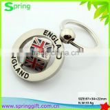 fashion england style dice key chain ,great british travel key ring, UK souvenir keychains