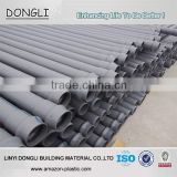 DN20-DN1600mm plastic pipe underground water supply pipe pvc material