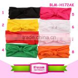 Candy color Headwear Baby Toddler Cute Girl Kids Bow Turban Knot Headband                                                                         Quality Choice