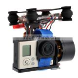 2 Axis Brushless FPV Camera Gimbal Stabilizer for DJI Phantom 3 Compatible with Gopro Hero 3