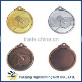 High quality good price professional 3d badminton wrestling karate tennis running gold silver bronze commemorative metal medal                                                                         Quality Choice