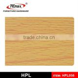 Yellow laminate sheet/grc decorative panels/wood laminate panels