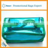 Transparent pvc back pack bag manufacturer water proof pvc bags zipper