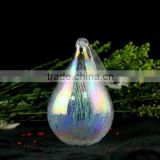beautiful teardrop hand blown glass crafts christmas decoration