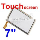 7 inch Capacitive Touch Screen with Glass panel LCD screen for 7inch Allwinner A13 Q88 ATM7013 tableat pc