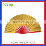 wholesale Chinese traditional bamboo fan, Tai Chi fan, kungfu fan