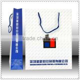 best sell 2014 high quality luxurious oem paper bag / Matt laminated paper bag printing service