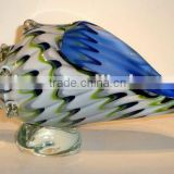 glass conch shell and art glass table decoration xo-2010015A and art glass home decoration and sea snail