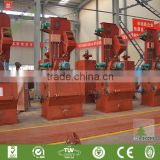 Surface Treatment Machine/Rubber Type Shot Blasting Machinery/China Shot Blasting Machine/