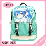 China Manufacturers outdoor waterproof oxford laptop bag snow miku hastune travelling backpack bags