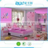 8863# Hello Kitty single bed with drawer/kids beds with drawers