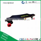 2016 Freeman UL2272 approved dural motor 4wheels electric skateboard longboard