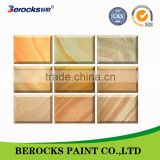 Berocks texture effect paint for outdoor/cement wall protective paint