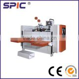 Corrugtated carton box stapler machine