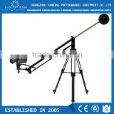 Professional portable hand-operated jib arm camera crane for dslr canon 5D Mark III camcorder