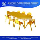 plastic children chair & table injection mould school rectangle desk mold and desk mould,plastic children desk square desk mould