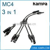 MC4 branch solar connector 3 to 1 with solar cable for solar energy system Solar Connector