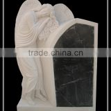 Cheapest Art White Marble Headstone
