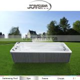 6M Inground Perfect Adult Plastic Endless Pool Swim Spa with Pop-up Stereo Speakers JY8602