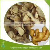Natural whole dried ginger flakes