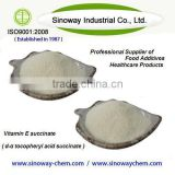 Best Quality d-alpha tocopheryl succinates with EP7.0 , 1185IU; 1210IU as health food additives