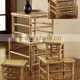 Natural Quadrate Bamboo Chair