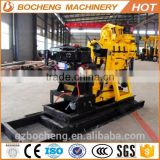 200m water well drilling machine/ skid water well drill rig/ bore well drilling machine price