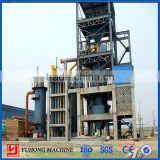 China Henan Yuhong 3m Double stage hot gas coal gasifier station for kinds of refractory industries