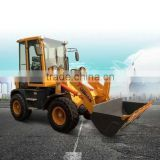 Various colors 1.2T 4WD mini agriculture machinery tractor type front end loader ZLY916A for sale