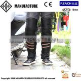 leather motorcycle leg warmer knee Protectors Off-Road electric bicycle