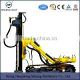 Portable DTH down the hole gold mining rock drilling rig