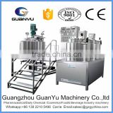 good sales of guangzhou factory stainless steel emulsifying mixer used in cosmetics making