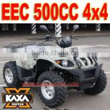 500cc 4x4 Road Legal Quad Bike for sale