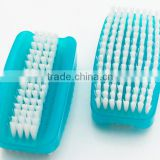 Europe markets for two sides nail cleaning brush brush nail plastic nail brush nail